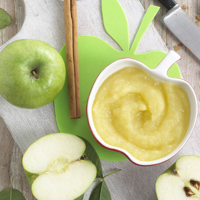 Reteta diversificare - Piure de mere