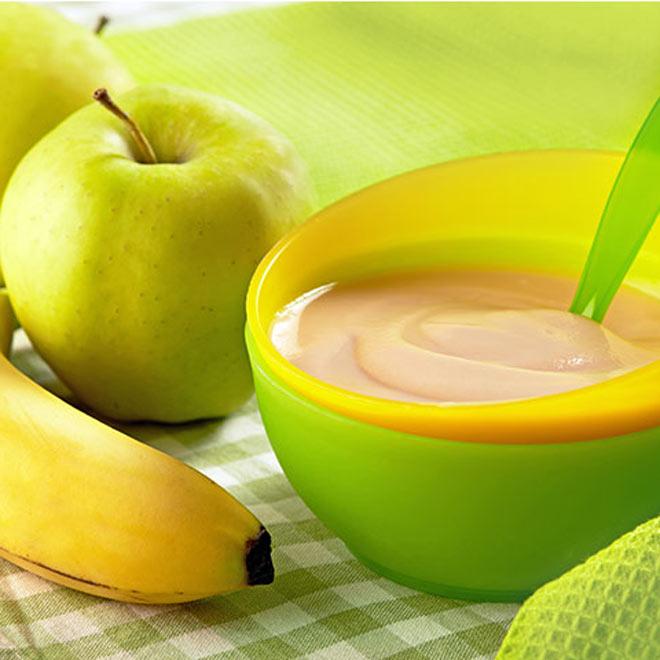Reteta diversificare - Piure din trei fructe